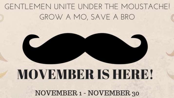 The Afrofinity Movember Challenge